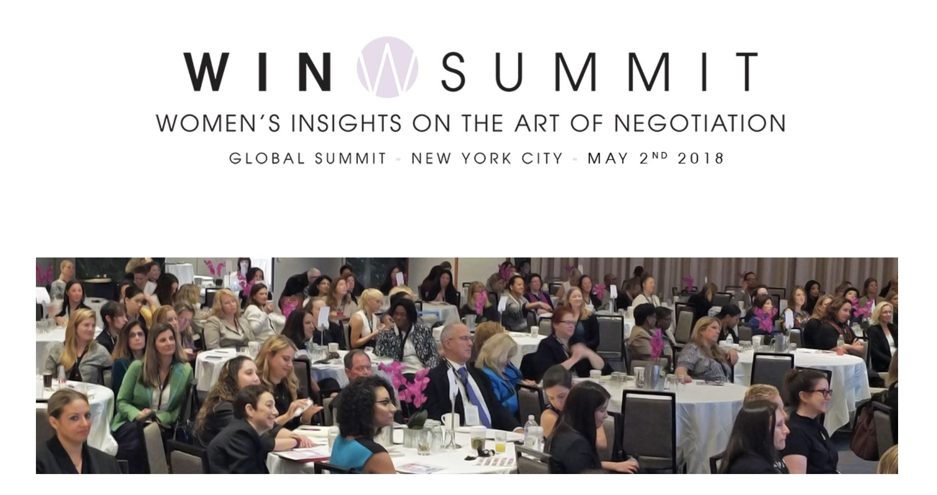 The Women's Insights on the Art of Negotiation Summit, also known as WIN Summit