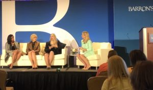 Cary Carbobaro at Barron's Top Independent Women Advisors Summit