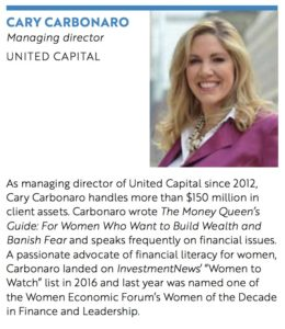 Notable Women in Finance - Cary Carbonaro